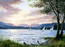 A Fresh Breeze . Windermere
